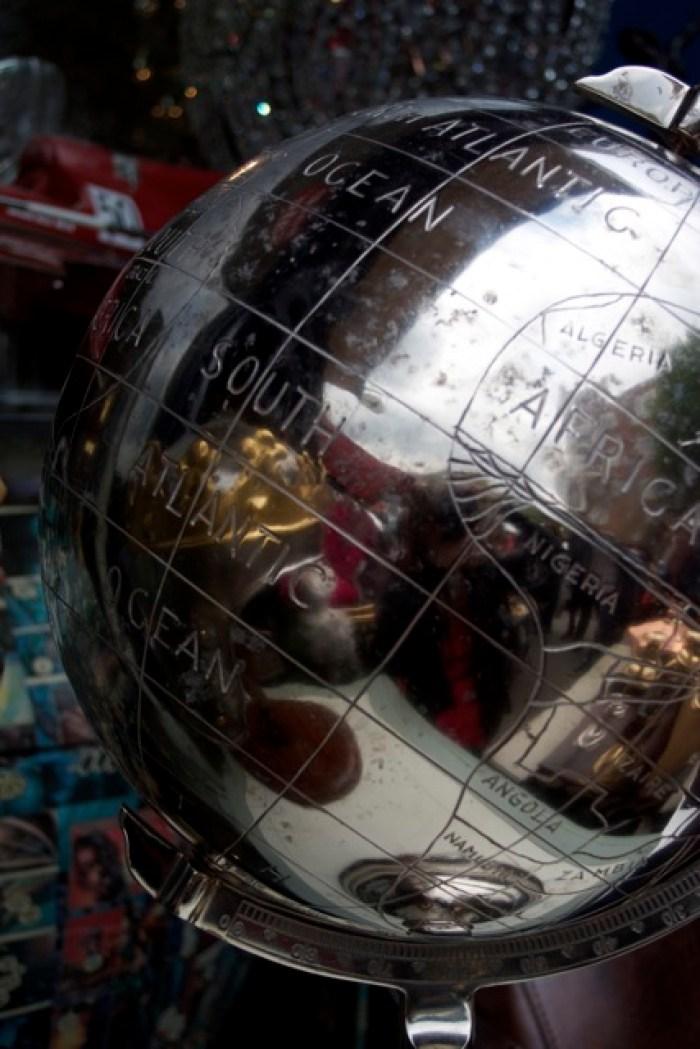 Portobello Market globes for sale