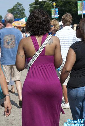 women in short dresses showing butt