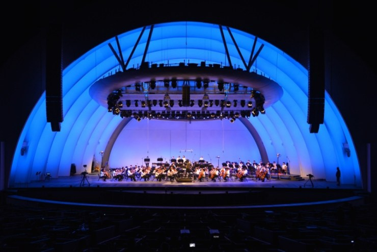 cymo blue hollywood bowl