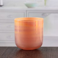 Coloured glass candle coasters 3 inch cheap candlestick ...