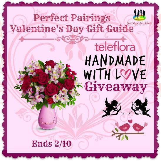 Teleflora #Handmade With #Love #Giveaway Ends 2/10 #SMGN