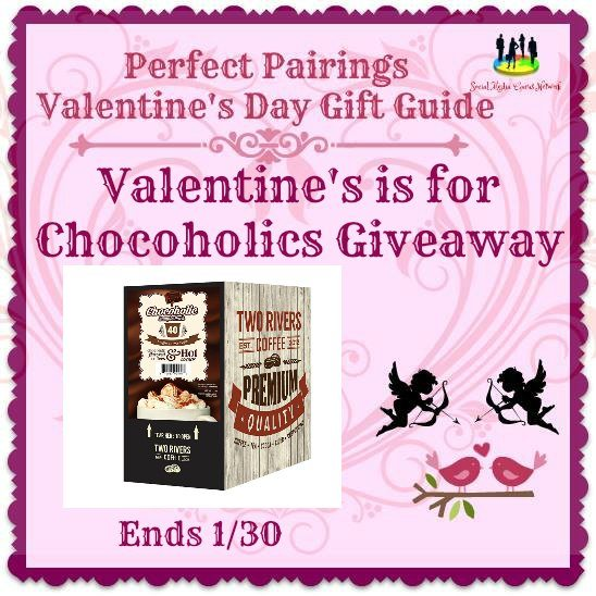 Valentine's Is For Chocoholics #Giveaway Ends 1/30 #SMGN