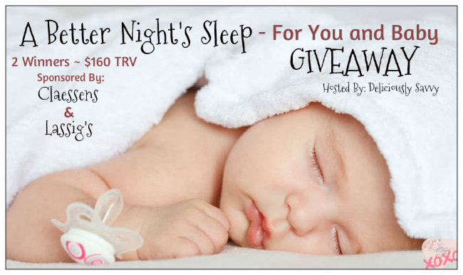 A Better Night's Sleep For You and Baby #Giveaway Ends 2/2