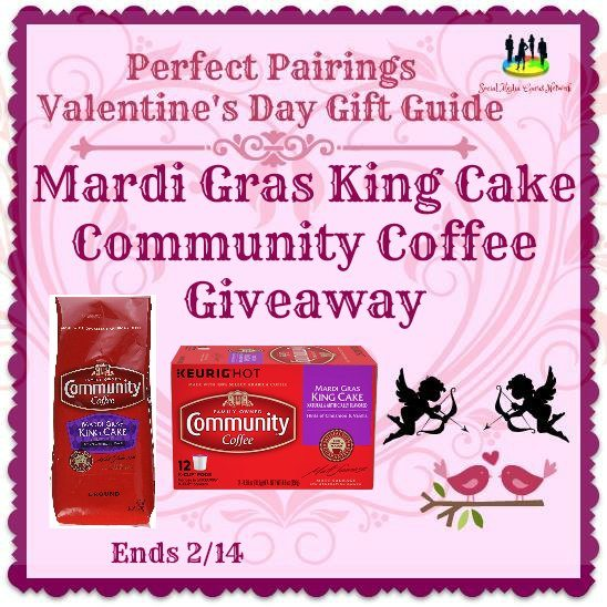 Mardi Gras King Cake Community Coffee #Giveaway Ends 2/14 #SMGN