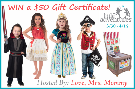 Little Adventures $50 #GC #Giveaway Ends 4/15
