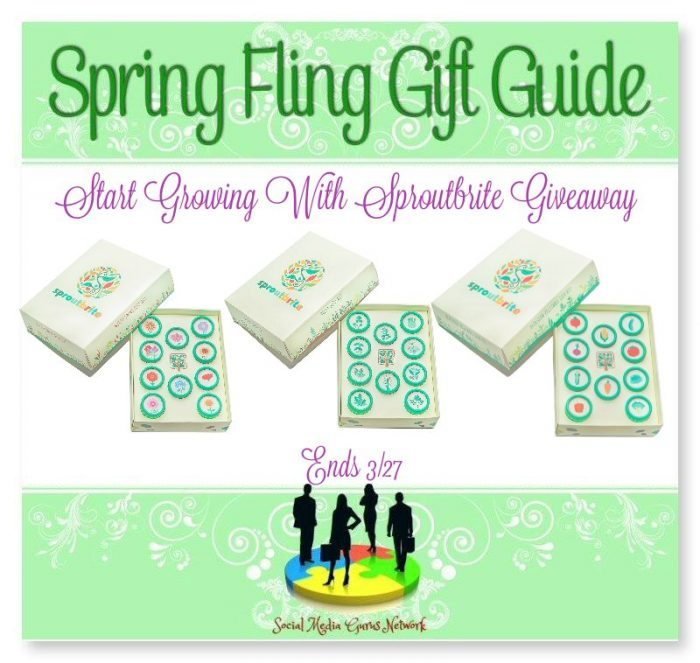 Start Growing With Sproutbrite #Giveaway Ends 3/27 #SMGN