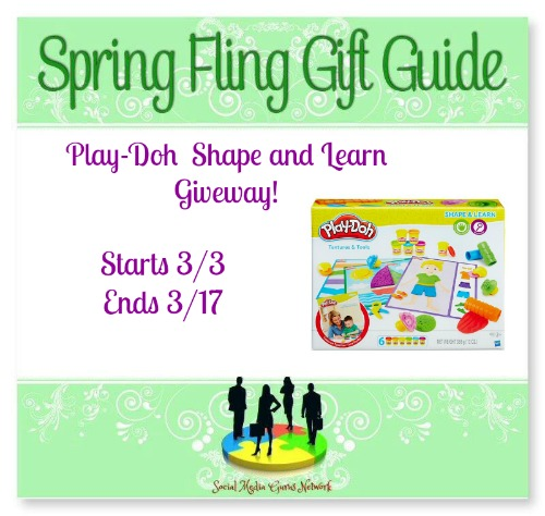 Play-Doh Shape and Learn #Giveaway Ends 3/17 #SMGN