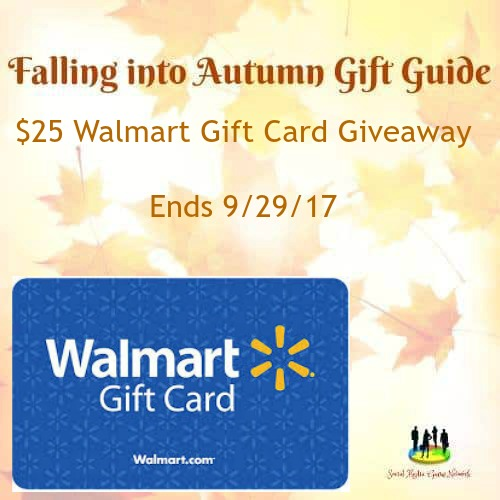 $25 Walmart Gift Card #Giveaway Ends 9/29