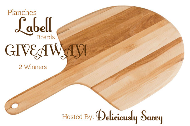 Planches Labell Boards #Giveaway Ends 10/15 (2 Winners!)