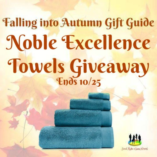 Noble Excellence Towels Giveaway Ends 10/25
