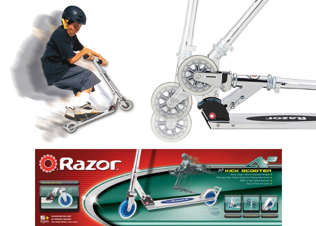 Razor A3 Scooter #Giveaway Ends 4/1