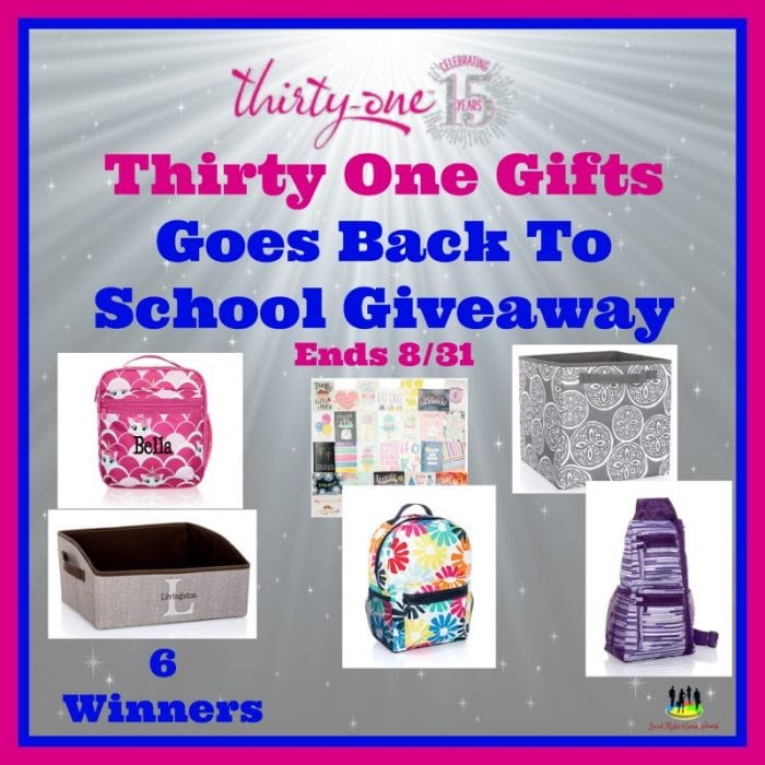 @ThirtyOne Gifts Goes Back to School #Giveaway Ends 8/31 via @SMGurusNetwork