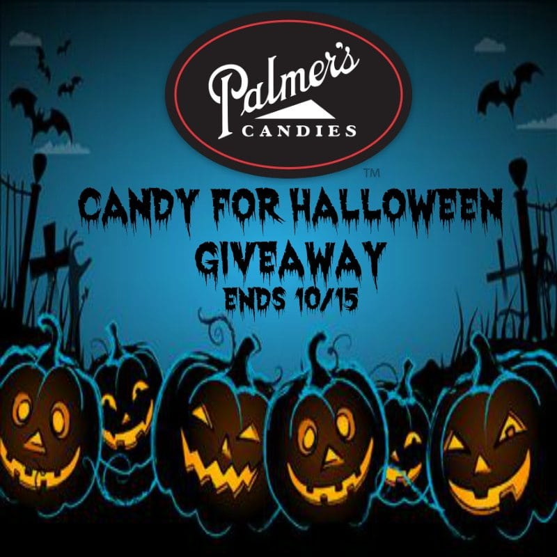 Palmer's Candy for #Halloween #Giveaway Ends 10/15