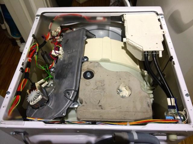 Hoover WDYN 11746PG8 Meccanica