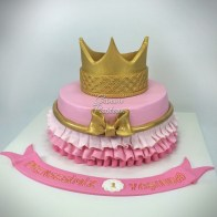 Crown Cake Princess Cake Prenses Tacı Pasta