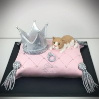 Crown Cake Cat Cake