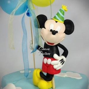 Miki pasta Mickey Mouse Cake 1 Yaş pastası 1 Yaş kutlaması