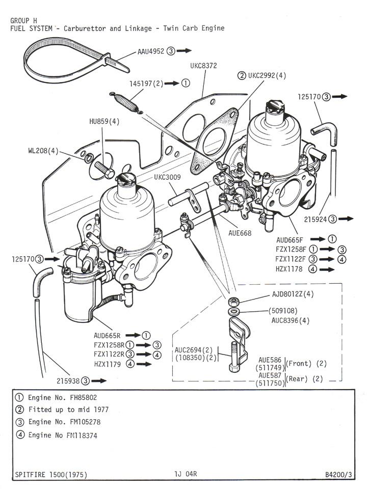 triumph engine diagram