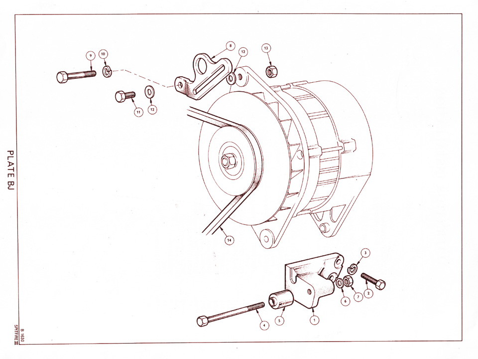 diagram of alternator