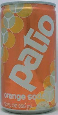 PATIO-Orange soda-355mL-United States