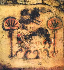 Ancient pot graffiti: Korean traders bringing cannabis to Japan.