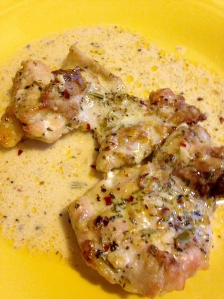 herbed chicken with lemon cream sauce