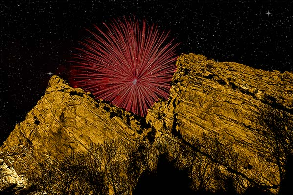 Rocky Mountain Fireworks