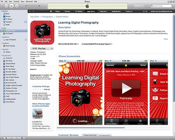 Learning Digital Photography App