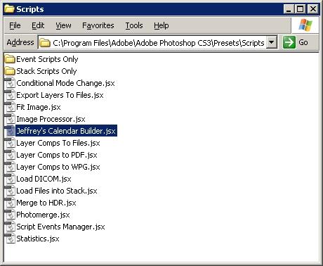 Step 02 - Copy script to Photoshop Folder