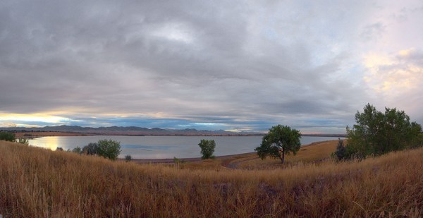 Stanley Lake Panorama