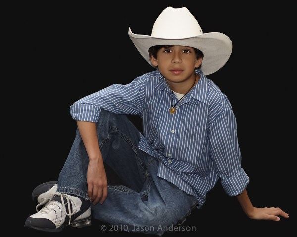 Studio Light: Kid Cowboy