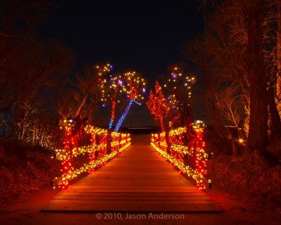 Christmas Lights at Chatfield 6