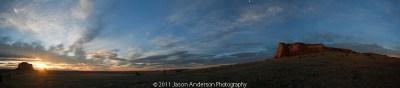 Pawnee Buttes Panorama