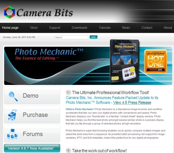 Photo Mechanic from Camera Bits