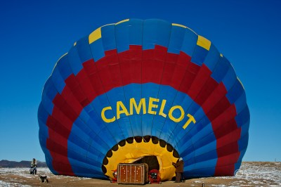 Hot Air Balloon in sRGB color space
