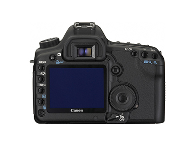 5D Mark II Back View