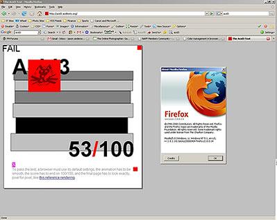 Firefox 2 on Windows XP