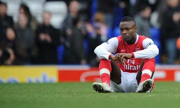 Are Arsenal having another William Gallas like meltdown?