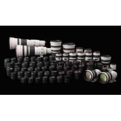 Small Crop Of Refurbished Canon Lenses