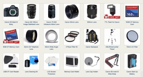 Supercharged Canon EOS 5D Mark III Bundle For $3800