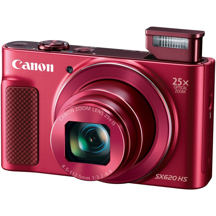 Powershot Sx620hs Red 3q Flash Opn HiRes