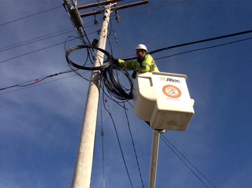 Fiber-optic installation speeds up northern Michigan - MSU Extension