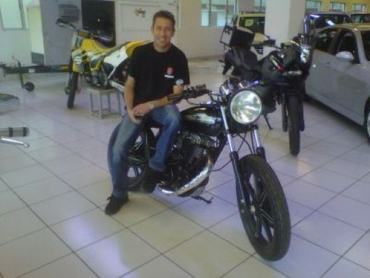 Malcolm Mamet - Wheely for CANSA