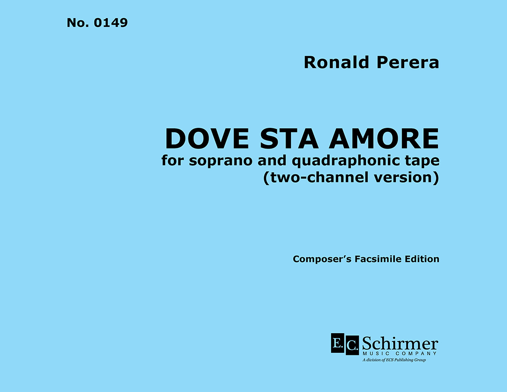 Dove Sta Amore for Viola and Piano