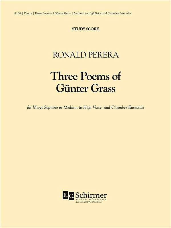 Three Poems of Günter Grass for Viola and Piano