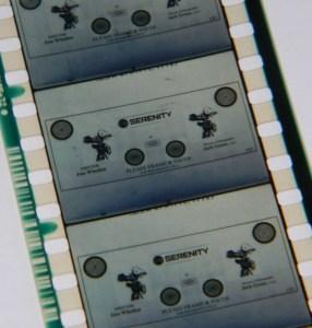 Serenity Film Strip