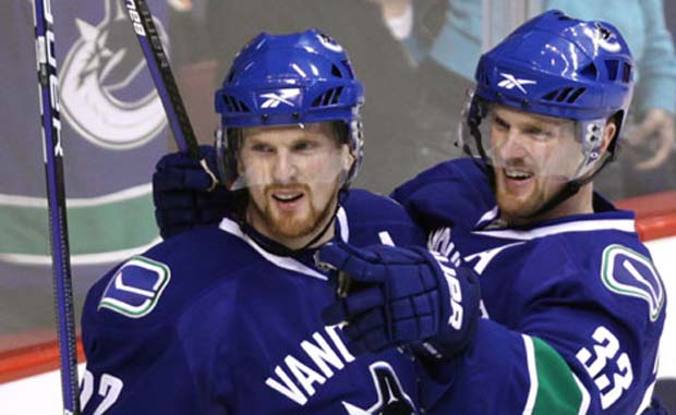 Henrik and Daniel Sedin, Vancouver Canucks