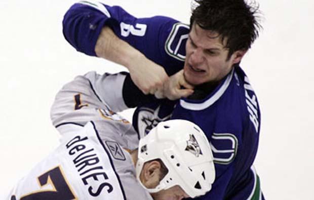 Kevin Bieksa, Vancouver Canucks