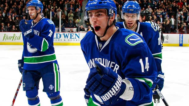 Alex Burrows, Vancouver Canucks
