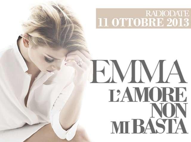 Emma L'amore non mi basta testo nuovo singolo